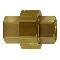 HF212P-02-02 Female Pipe x Female Pipe Union Adapter